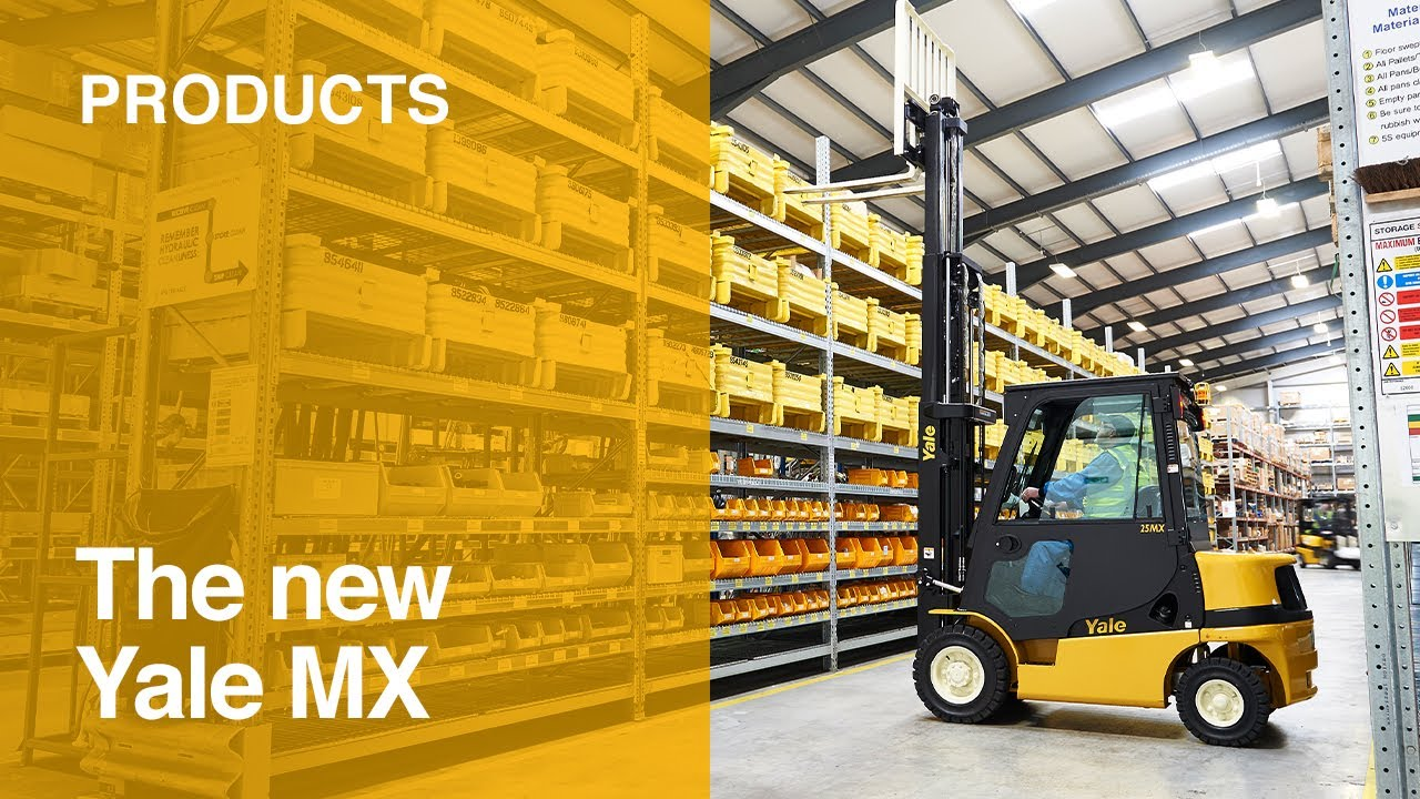 Yale MX Diesel or LPG Forklift Truck - Your key to affordable productivity