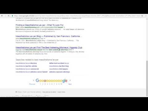 Mesothelioma Attorney Directory 3