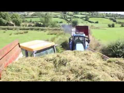 driving tractor at silage (mullash style)