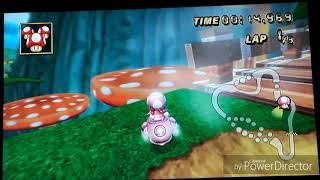 Mario kart Wii passages secrets : coupe champignon !