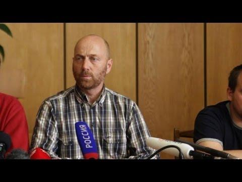 Ukraine: les observateurs de l'OSCE présentés à la presse