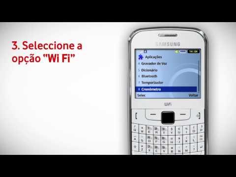 Samsung Ch@t 335 - Ligar Wi Fi