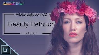 Repeat youtube video Lightroom Tutorial - Editing Portrait Photos - Full Retouch
