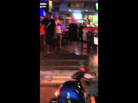 Australian's drank in Bali funny karaoke