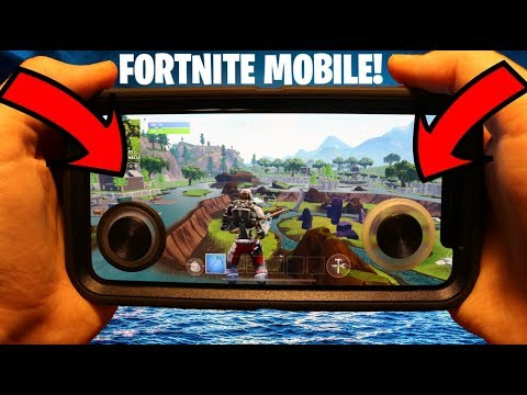 FORTNITE MOBILE W/JOYSTICKS!!