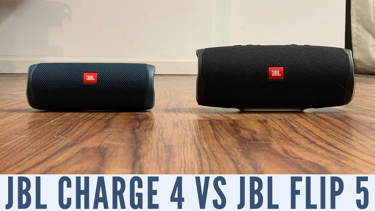 Jbl Charge 4 Vs Jbl Flip 5 Youtube