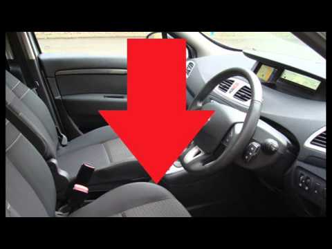 renault scenic mk3 obd2 diagnostic port location youtube. Black Bedroom Furniture Sets. Home Design Ideas