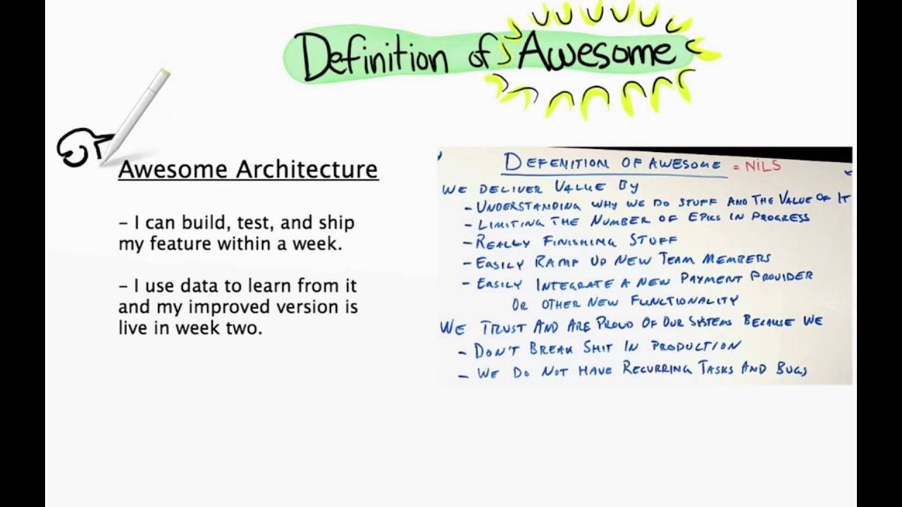 what is the mean of awesome