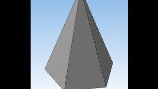 Видеоуроки по КОМПАС 3D. Урок 2  Построение 3D моделей призмы, пирамиды, цилиндра и конуса