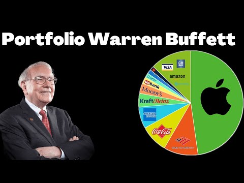 Portfolio van Warren Buffett in 2021
