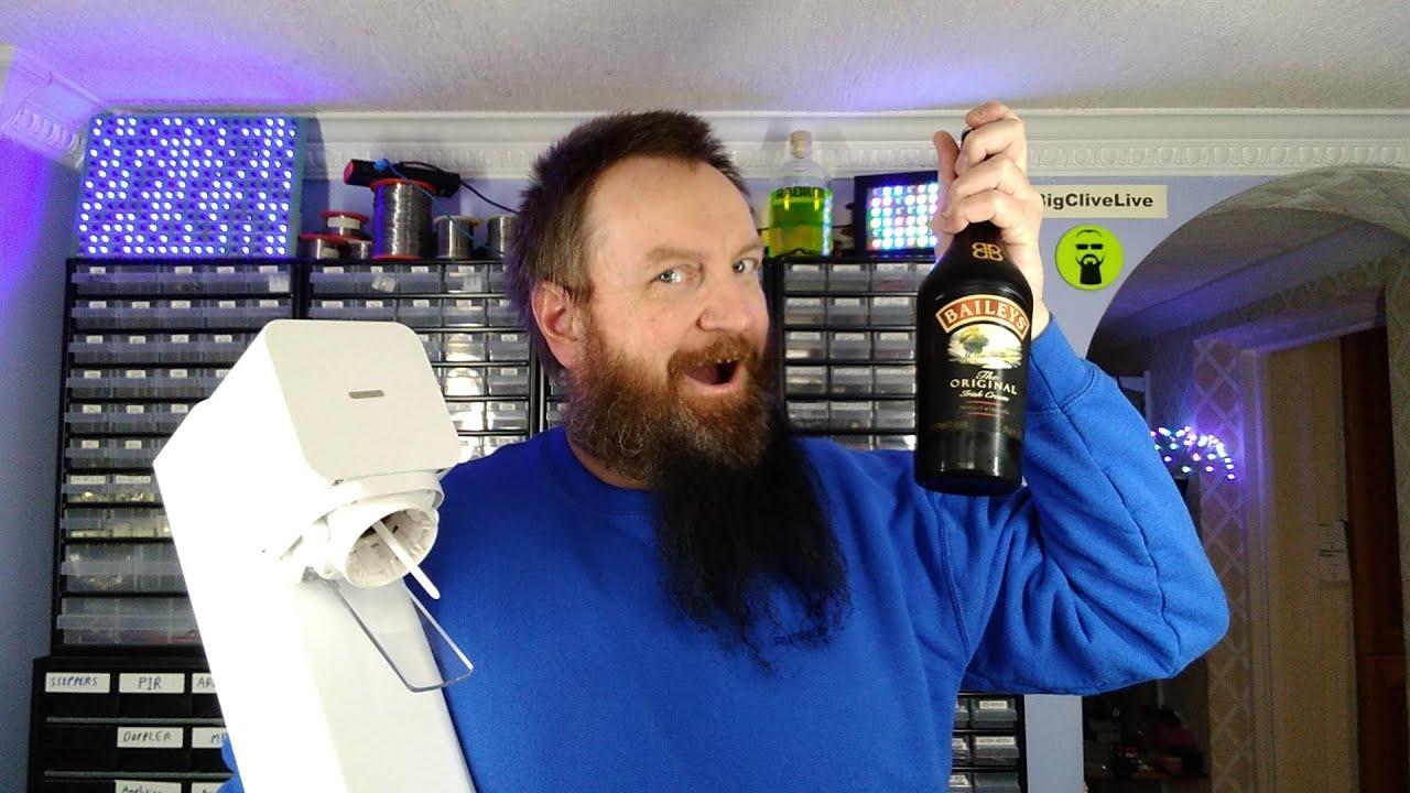 Baileys Irish Cream vs Sodastream.  Will it carbonate?
