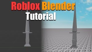 How to import Blender files into Roblox! [Blender and Roblox tutorial!]