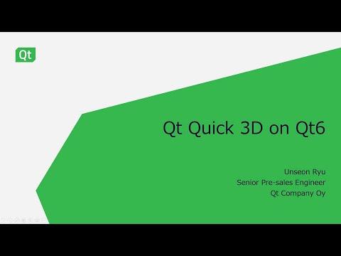 2D・3Dグラフィックスをシームレスに開発 ~Qt Design Studio 2.0~ 3D編