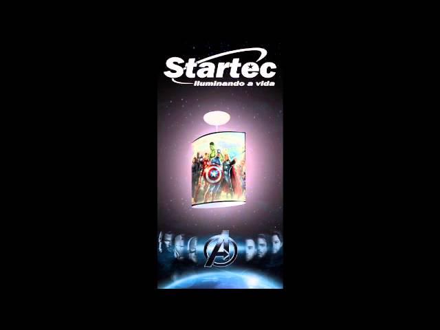 AVENGERS - MARVEL - produtos Startec