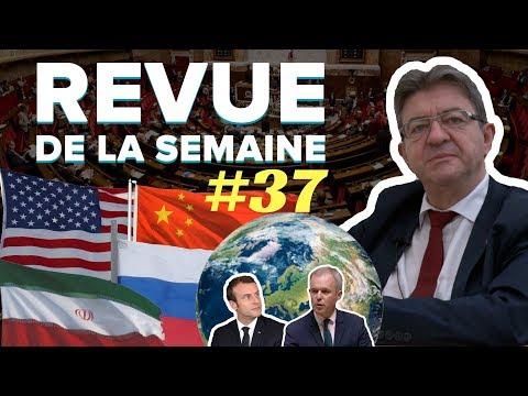#RDLS37 : DETTE ÉCOLOGIQUE, USA, RUSSIE, IRAN, CHINE, MORALISATION, MACRON, DE RUGY