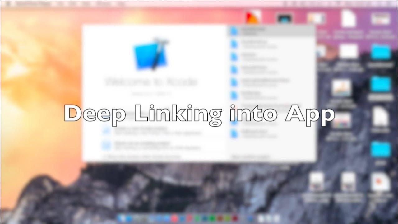 Setting up Deep Links in an iOS app