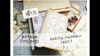 Arteza Journal Project Part 1