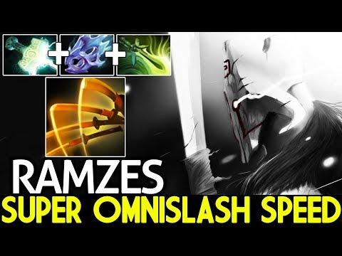 Ramzes [Juggernaut] Max Attack Speed Super Omnislash Carry Game 7.21 Dota 2 thumbnail