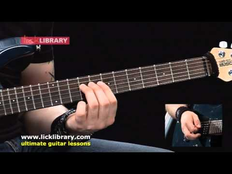 System Of A Down Chop Suey Guitar Lesson | Andy James Licklibrary