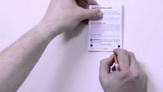 How to install a FireAngel CO-9X carbon monoxide alarm