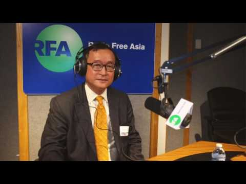 Mr. Rainsy interview with RFA on 19 July 2017 - part 01
