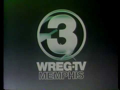 WREG-TV Channel 3 Legal ID Memphis 1981
