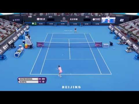 2016 China Open Final Hot Shot   Agnieszka Radwanska