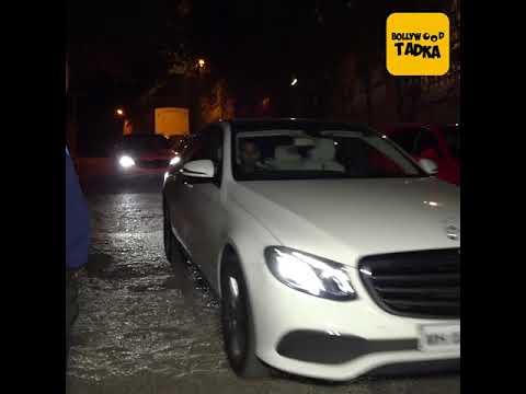 Deepika Padukone, Ranveer Singh, Kareena Kapoor arrive at SRK's party for BFF Kaajal Anand