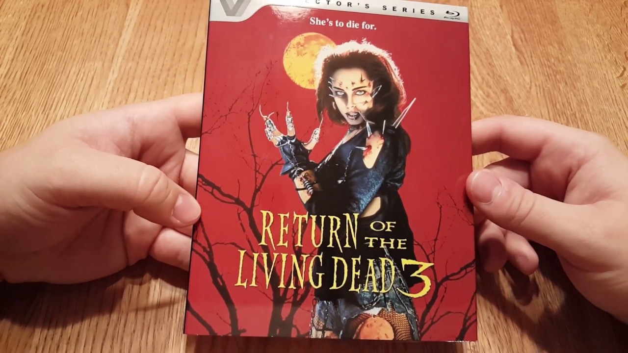 Return of The Living Dead 3 blu-ray unboxing
