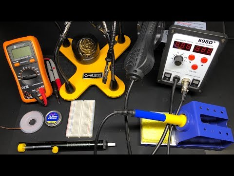 Tools You NEED To Get Into Electronics (and QuadHands Giveaway!)