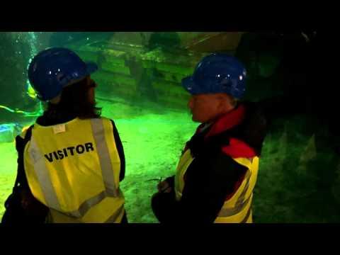 Indoor tank (The Underwater Centre, Fort William)