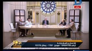 العاشرة مساء  خناقة على الهواء بين علاء السعيد وسليمان الحكيم حول الخلاف المصرى السعودى