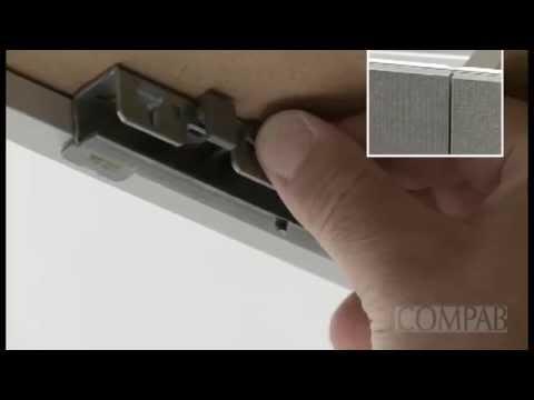Compab Mobili Arredo Bagno Regolazione cassetti legno