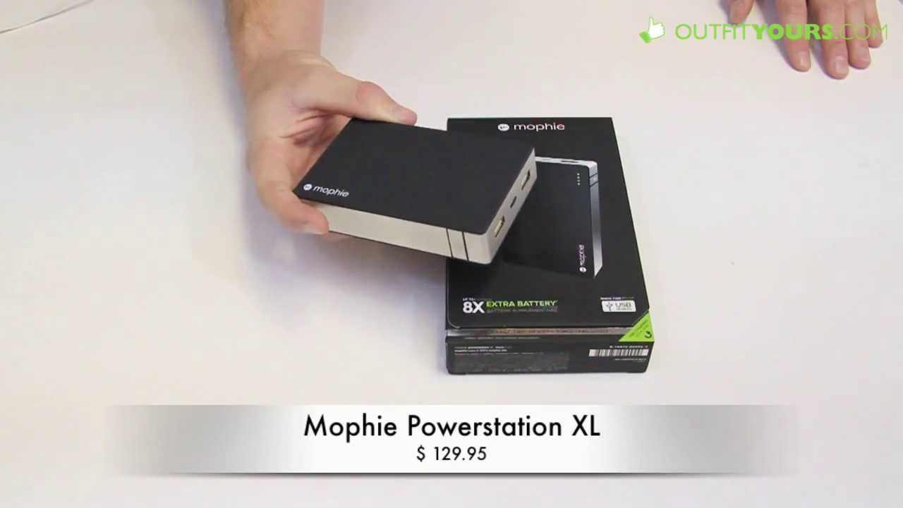 buy online 83f18 c06fe mophie powerstation XL Review - Longest Lasting Universal Battery