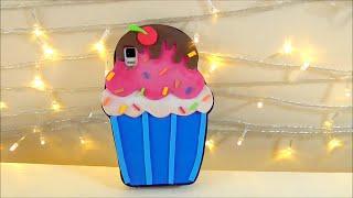 manualidades faciles forro de celular o movil en forma de cupcake con foami o goma eva   isa