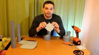 видео Простая кормушка из полипропилена и ПВХ | Поделки своими руками для авто, дачи и дома