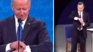 Här gör Joe Biden samma tabbe som George Bush