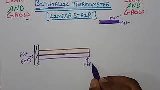 Bimetallic Thermometer(Linear Type) (हिन्दी )