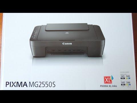 Impresora y escáner Canon Pixma MG2550S review en español