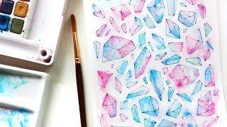 Crystals   Waterdoodle