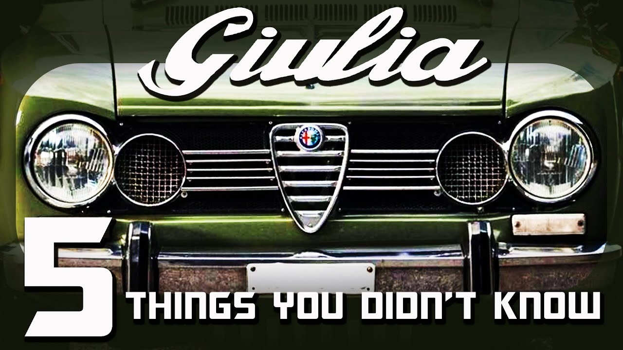 Things You Didn't Know About The Alfa Romeo Giulia