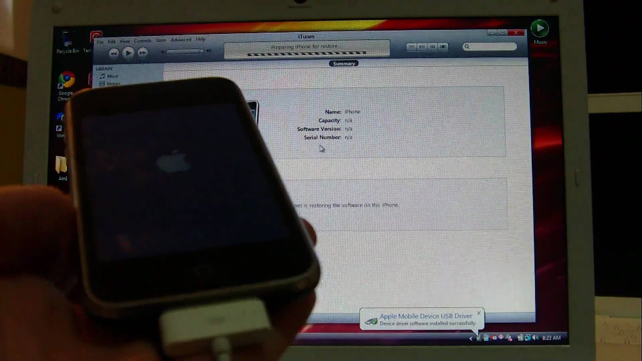 How to Update iPhone 3g/3gS & iPhone 4 to Custom iOS 4 2 1 Preserving your  Baseband