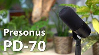 Presonus PD-70 im Test - Ein Broadcast-Mikrofon für 130 Euro - Ideal für Podcaster und Streamer