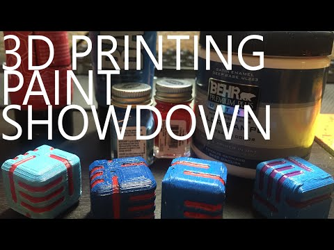 Which Paint To Use For 3D Prints