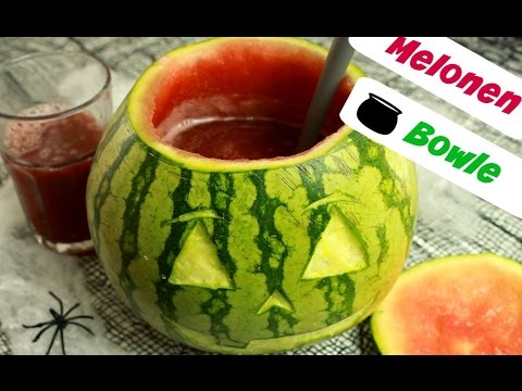 melonen bowle f r halloween youtube. Black Bedroom Furniture Sets. Home Design Ideas