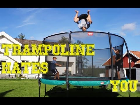 Download Youtube: TRAMPOLINES HATE PEOPLE [FailForceOne]