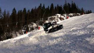 Prinoth Leitwolf W and PB 300 Polar W, Tryvann, The Oakley Arctic Challenge