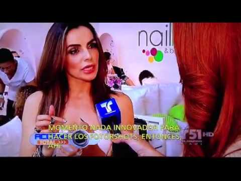 Nailbar On Telemundo Televisión Acceso Total Tv Show