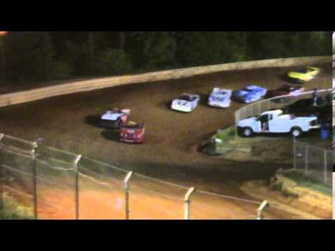 Toccoa Speedway Monster Minis 4 Cylinder 2nd Heat Race 5/2/2014