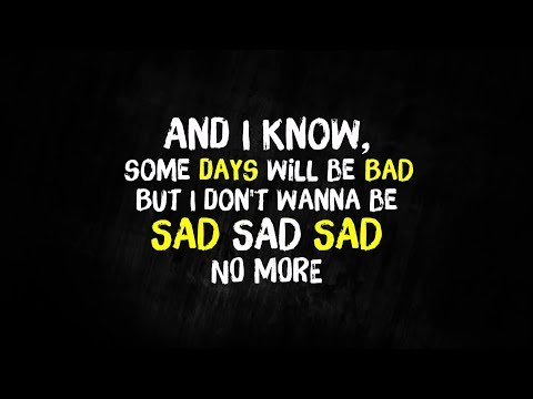 Simple Plan - I Don't Wanna Be Sad (Lyrics)